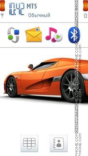 Скриншот темы Koenigsegg CCX 5th