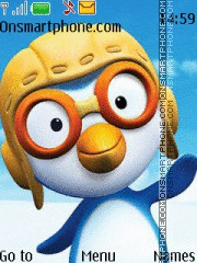Pororo the Little Penguin theme screenshot