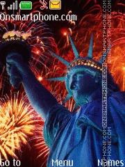 Скриншот темы USA Independence day