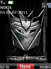 Transformers 3 01 es el tema de pantalla