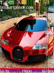 Скриншот темы Bugatti Veyron 14