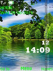 River Clock theme screenshot