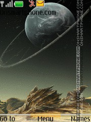 3d Dark Moon theme screenshot