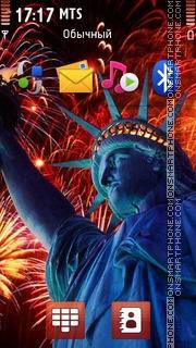 USA Independence day 01 theme screenshot