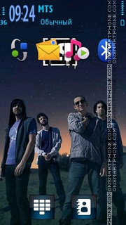 Linkin Park 5805 theme screenshot