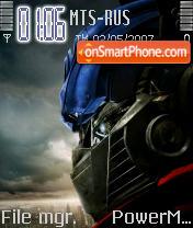 Transformers 01 es el tema de pantalla