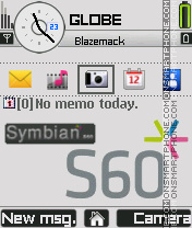 Symbian s60 tema screenshot