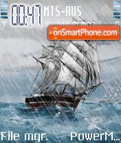 Stormy Ship Animated theme screenshot