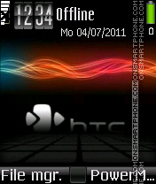 Htc energy tema screenshot