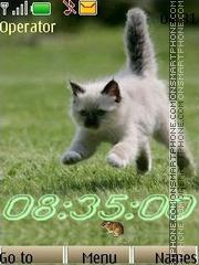 Kittens swf theme screenshot