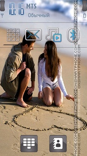 Love Couple 11 es el tema de pantalla