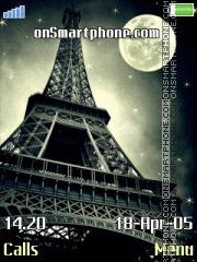 Eiffel Tower - Paris es el tema de pantalla