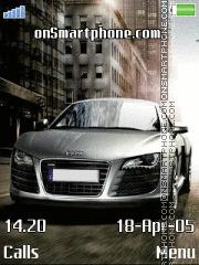 Audi R8 on the road es el tema de pantalla