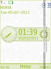 Green Network theme screenshot