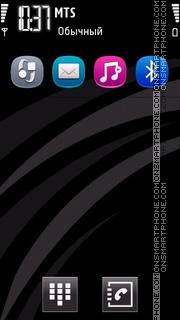 Symbian next transparent theme screenshot