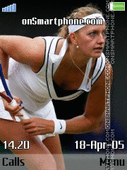 Petra Kvitova 2 theme screenshot
