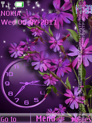 Flower theme screenshot