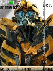 Transformers Bumblebee 02 theme screenshot