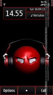 Musician Smily 01 tema screenshot