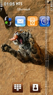 Tiger 42 theme screenshot