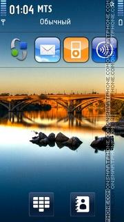 Sunset Bridge 01 theme screenshot