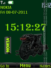 Mototerminator By ROMB39 theme screenshot