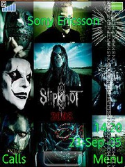 Скриншот темы Slipknot