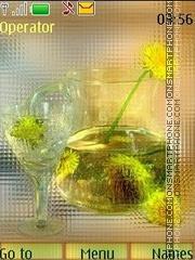 Dandelion mood swf theme screenshot