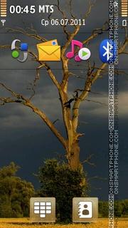 Lonely Tree 02 theme screenshot