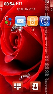 Red Rose 06 theme screenshot