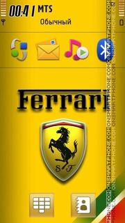 Capture d'écran Ferrari Logo 2014 thème