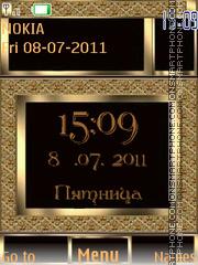 Nokia Gold By ROMB39 theme screenshot
