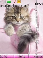 Cute Cat 09 es el tema de pantalla