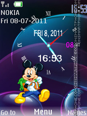 Mickey 08 theme screenshot