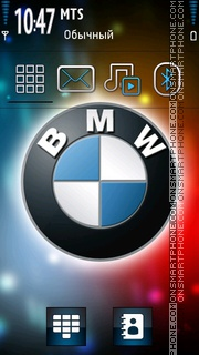 Bmw 2015 theme screenshot