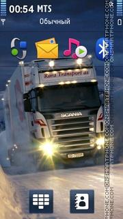 Scania 01 theme screenshot