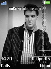 Скриншот темы Elvis Presley