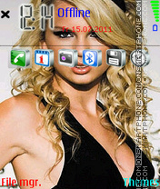 Taylor-Swift-02 theme screenshot