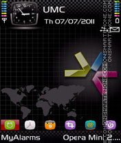 Dark by Bolena (PI Ind190) theme screenshot