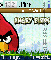 Angry birds Theme-Screenshot