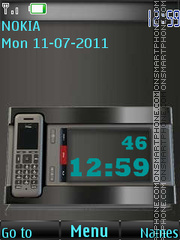 Fixed-line phone By ROMB39 theme screenshot