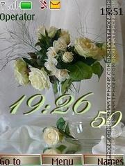 Bouquets swf theme screenshot
