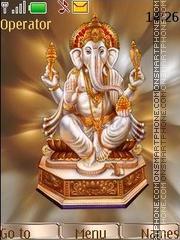 Capture d'écran Ganesha thème