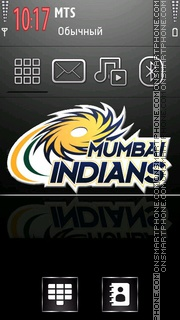 Mumbai Indians 04 theme screenshot