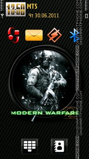 Call of Duty MW 2 01 theme screenshot