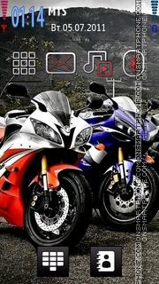 Yamaha Bikes Theme-Screenshot