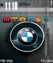Bmw Logo 06 theme screenshot