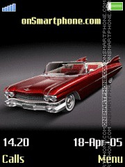 Cadillac tema screenshot