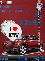 Love By BMW By ROMB39 theme screenshot