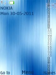 Blue Theme 03 theme screenshot